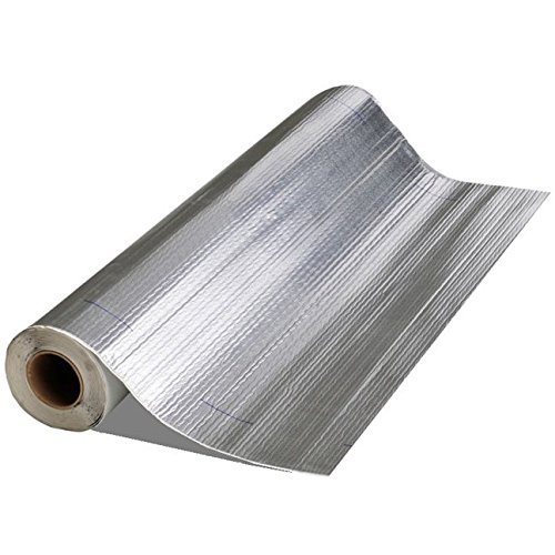 Mfm Building Product 50036 Mfm Peel & Seal Self Stick Roll Roof Ing (1, 36 in. Alum Inum), 36in. Aluminum by Mfm Building Product