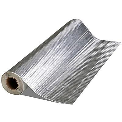 Image of Mfm Building Product 50036 Mfm Peel & Seal Self Stick Roll Roof Ing (1, 36 in. Alum Inum), 36in. Aluminum