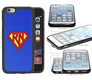 Super Hero RN Nurse (Blue) Cell Phone Case Cover iPhone 6 (4.7 INCH SCREEN)