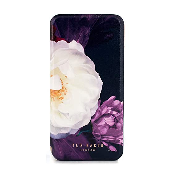 on sale 24cb7 dc6d6 Ted Baker CANDEECE Highly Protective Mirror Folio Case for iPhone X/XS -  Blushing Bouquet