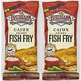 Louisiana Cajun Fish Fry Seasoning Mix, 10 Ounce - 12 per case.