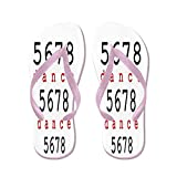 CafePress 5678 Dance - Flip Flops, Funny Thong Sandals, Beach Sandals