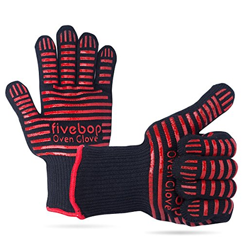 Fivebop Fingers Resistant Certified Black red