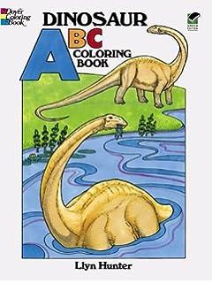 Dinosaur ABC Coloring Book Dover Books