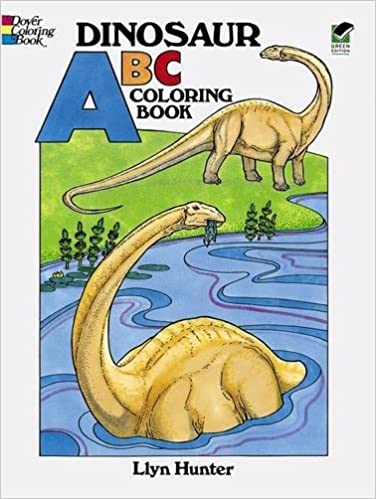 Dinosaur ABC Coloring Book (Dover Coloring Books): Llyn Hunter ...