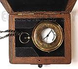 Sailor Pocket Watch Marine Brass Lovers Gift - Royal Navy