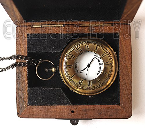 Sailor Pocket Watch Marine Brass Lovers Gift - Royal (Navy Pocket Watch)