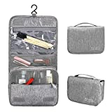 Hanging Toiletry Bag for Men and Women Travel Toiletry Kit Waterproof Cosmetic Makeup Bag with Hook and Handle
