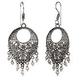 Efulgenz Boho Jewelry Indian Oxidized Si