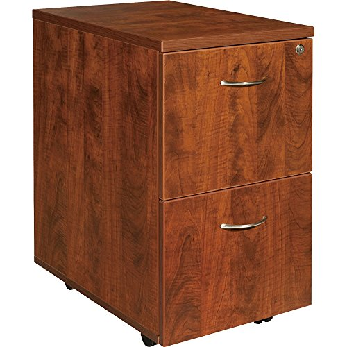 Mounted Pedestal Cabinet File (Lorell Mobile Pedestal, File/File, 16 by 22 by 28-1/4-Inch, Cherry)