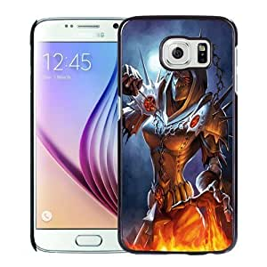 NEW DIY Unique Designed Samsung Galaxy S6 Phone Case For World of Warcraft Warlock Fan Artwork Phone Case Cover