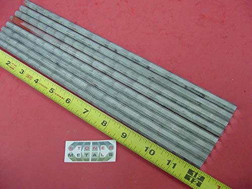 8 Pieces HEX 5/16'' Aluminum 2024 Hex BAR 12'' Long T4 Solid Lathe Stock .312''