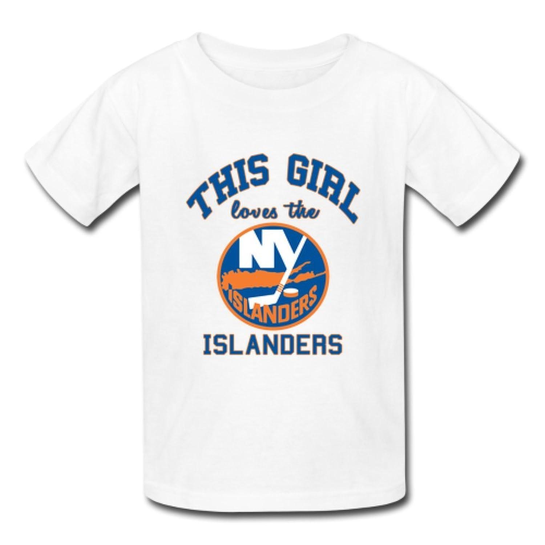 MsMr This Girl love the New York Islanders Custom Men's Gildan T-shirt