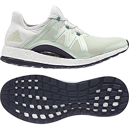 adidas Pureboost Xpose, Zapatos Para Correr Mujer, Verde (Verde Verlin/Acevap/Balcri), 43 EU