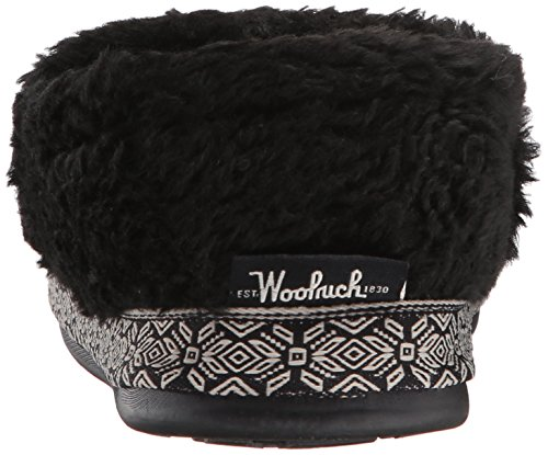 Woolrich Womens Whitecap Slipper Zwart