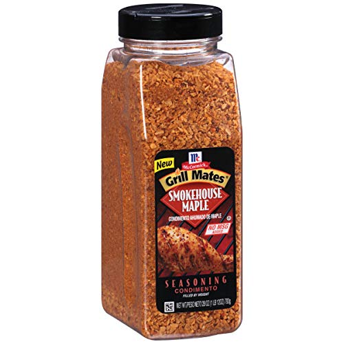 Mccormick Grill Mates Smokehouse Maple Seasoning, 28 Ounce -- 6 per case. (Maple Smokehouse Seasoning)