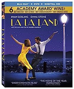 Cover Image for 'La La Land [Blu-ray + DVD + Digital HD]'
