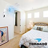 Tornado 16 Inch Digital Wall Mount Fan - Remote