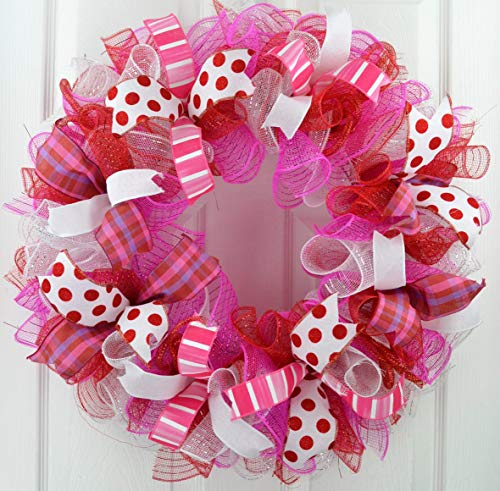 Valentine's Day Wreath   Valentine Wreath   Valentines