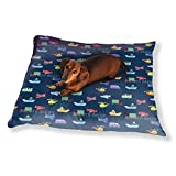 Planes And Cars Dog Pillow Luxury Dog / Cat Pet Bed