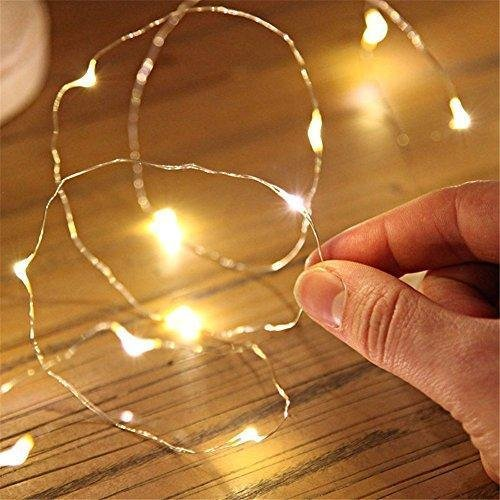 ASDA George LED Wire Lights 50 Decorative Fairy Battery Powered String  Lights Silver Wire light Christmas - ASDA George LED Wire Lights 50 Decorative Fairy Battery Powered