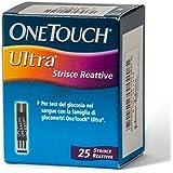 LifeScan OneTouch Ultra Strisce Misurazione Glicemia 25 Pezzi