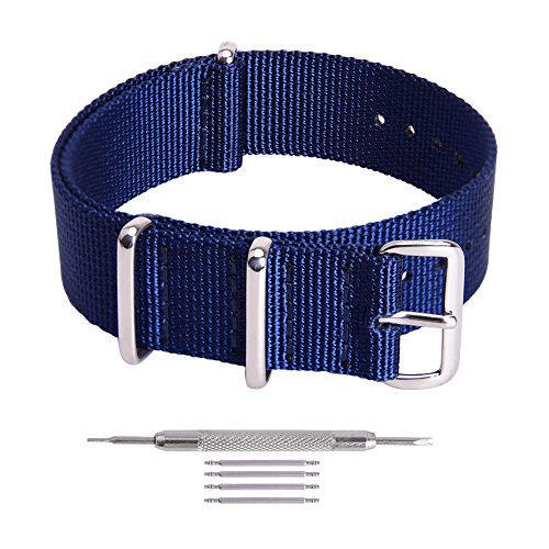 ap Nylon Watch Band Replacement Watch Straps for Men Women ()