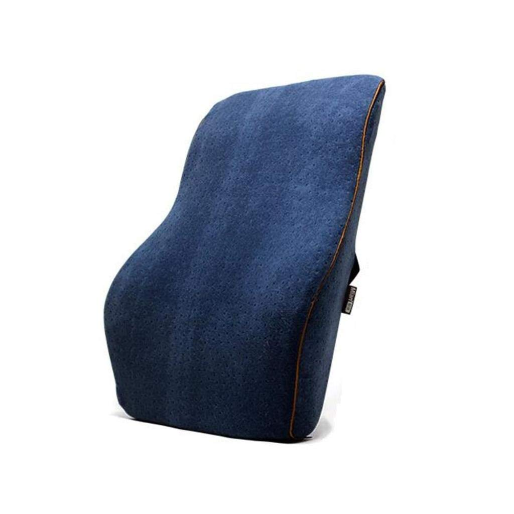 YJLGRYF Headboard Cushion Office Cushion Seat Waist Cushion Back Waist Pillow Chair Pillow Car Lumbar Lumbar pad for Office Bed sof (Color : Black)