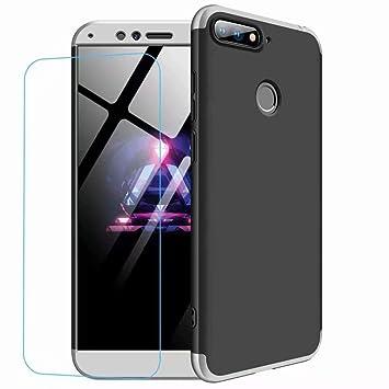 Funda Huawei Honor 9 Lite,DYGG Compatible con Carcasa Protección de 360 Grados Case Cover Huawei Honor 9 Lite Anti-Rasguño +Protector de ...