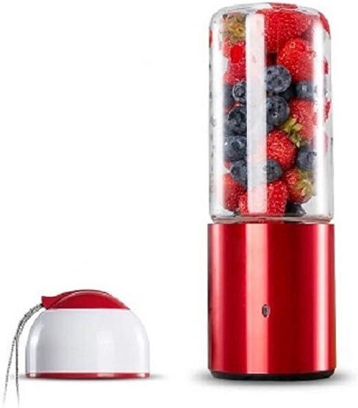 YYMMQQ Exprimidor Exprimidor USB portátil automático Verduras Jugo de frutas Batidora Exprimidor Extractor de tazas Licuadora de alimentos Exprimidor eléctrico Exprimidores en máquina de ele: Amazon.es: Hogar