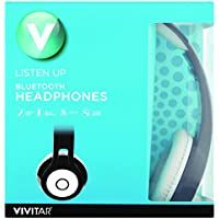 Vivitar Listen Up Bluetooth Over Ear Headphones (Black)