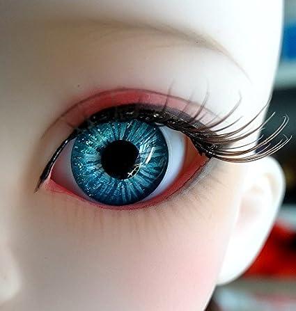Newborn Eyelashes17MM Medium Brown