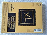 Canson Calligraphy Paper XL Series 8'' X 11'' natural white and antique finish, 50 sheets