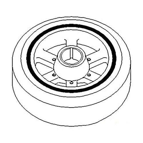 - RE57603 New Torsional Damper Made for John Deere 6610 6650 8100 8120 8200 8220 8300 +