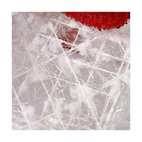 CCLIFE LED accendere Decorativa Natale Pacco Regalo Box Set dimmerabile, 3 Pezzi, Scatola Regalo LED, Illuminazione Decorativa, Colore:C: bianco + rosso, lana 5 spesavip