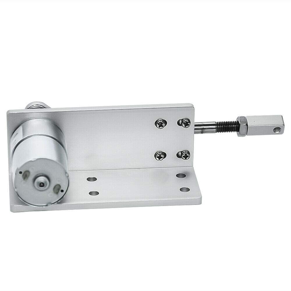 Cycling Electric Linear Motion Actuator Reciprocating Motor DC 24V 800Rpm Stroke 12mm 16mm 20mm