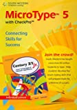 MicroType 5 with Checkpro Individual Version for Century 21 Jr, South-Western Educational Publishing Staff, 0538494158