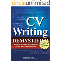 CV Writing Demystified - 2012 Graduate Edition