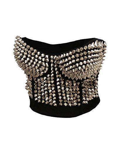 Metallic Bustier Dress - 3