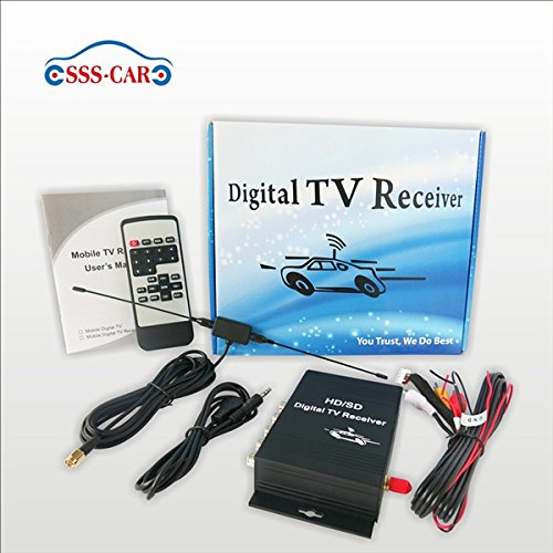 Car ATSC MPEG 4 digital TV tuner america TV receiver box by Car DVD (Image #5)