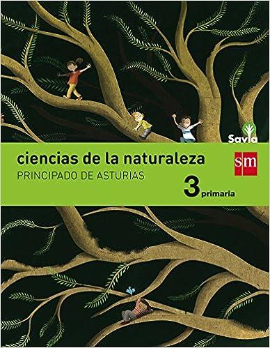 Las mejores descargas de libros para iPad Ciencias de la naturaleza. 3 Primaria. Savia. Asturias en español PDF iBook PDB