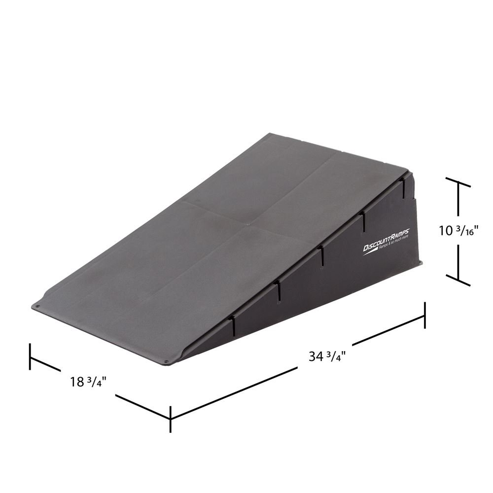 Discount Ramps SK-78800 Black 10'' High Skateboard Launch Ramp by Discount Ramps (Image #2)