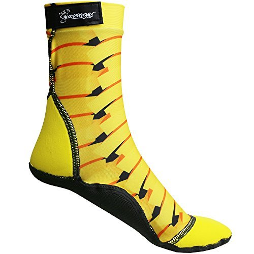 The Seasnug New From Seavenger. It's a Perfect Fit for Everything on the Sand. (Yellow Ribbon, M - Size 8-9)
