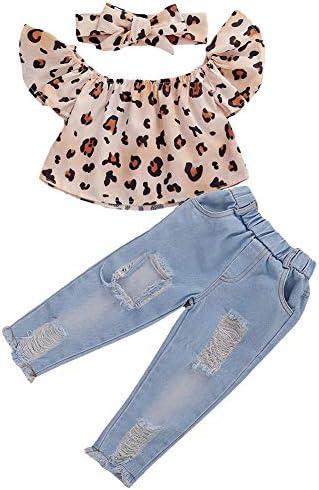 DaMohony color blanco con lazo y pantalones de rayas azules Conjunto de ropa para beb/é y ni/ña 2 piezas ropa de verano para ni/ñas