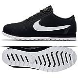 NIKE Women's Cortez Ultra Moire Running Shoes (10 B(M) US, Black/White-Black)