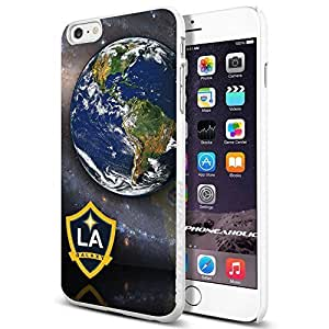 diy zhengMLS LA Galaxy Logo , , Cool iphone 5/5s Smartphone Case Cover Collector iphone TPU Rubber Case White [By PhoneAholic]