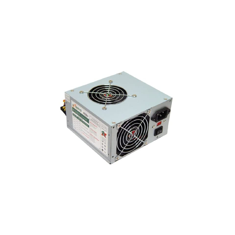 Logisys Corp. 480W 240 Pin Dual Fan with Radiation Filter PS480X2