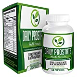 Daily Prostate Health Support Supplement Formula - Prostate Supplements for Men - 60 Capsules