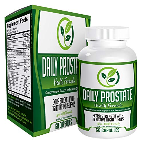 Daily Prostate Health Support Supplement Formula