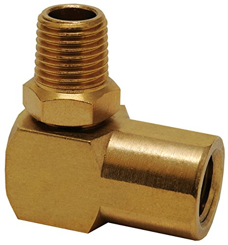 - Hot Max 28085 90-degree Swivel 1/4-Inch Male NPT x 1/4-Inch Female NPT
